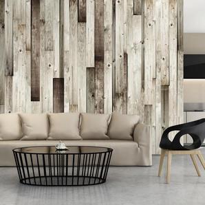 Papier peint - Plancher en bois