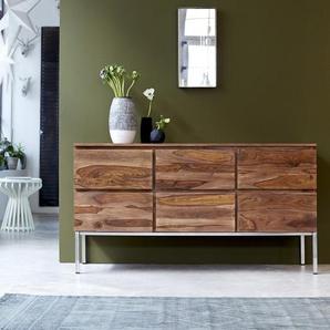 Commode 6 tiroirs en bois de palissandre Nova