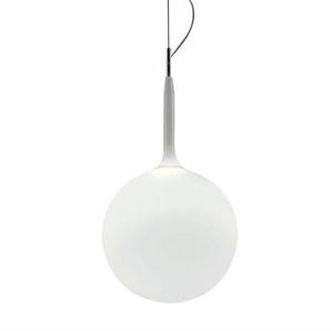 CASTORE-Suspension Verre Soufflé Ø35cm blanc opalin Artemide - designé par Michele de Lucchi & Huub Ubbens