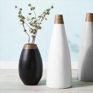 Vase décoratif gris EMONA