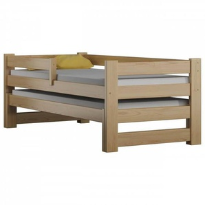 Lit gigogne Paul Duo 80x190 - Pin - 80 cm x 190 cm