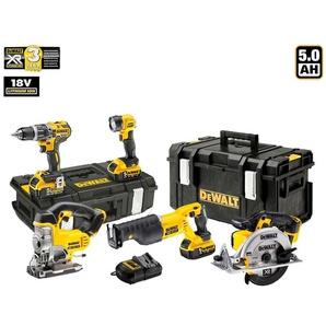 DeWALT Kit XP594P3 (DCD796 + DCS331 + DCS380 + DCS391 + DCL040 + 3 x 5,0 Ah + DCB115 + DS150 +DS300)