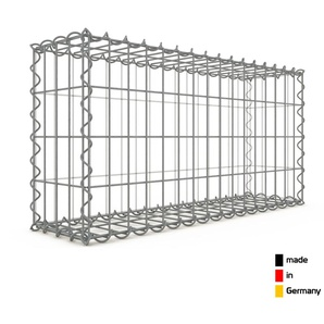 Gabion 80x40x20cm « made in Germany » - mailles rectangulaires 5x10cm - GABIONDECO