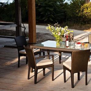 Dedon Chaise Panama Lounge  - bronze