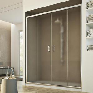 Porte Douche 150 cm 185 granité C modèle Replay 2 Portillons - IDRALITE