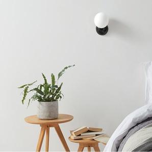 Vetro, lampe murale, noir