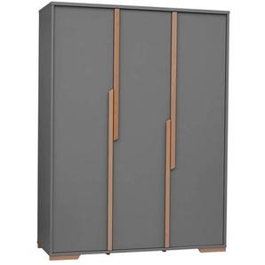 Grande armoire 3 portes Snap - Noir