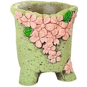 KoalaSuperstore 2 Pcs Céramique Pots de Plantes succulentes Petits Pots de Jardin Creative Flowerpots #7