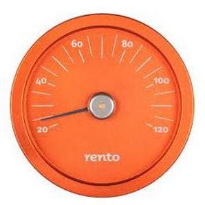 Thermomètre pour sauna en aluminium RENTO couleur cuivre