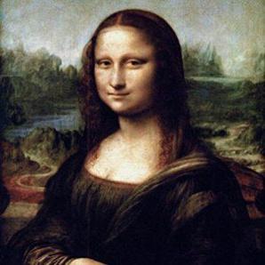 Leonardo Da Vinci Poster Papier Peint - La Joconde, 2 Parties (250 x 180 cm)