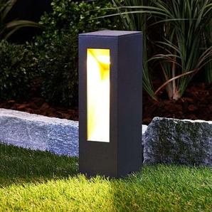 LED Borne Eclairage Exterieur Jenke en aluminium - LUCANDE