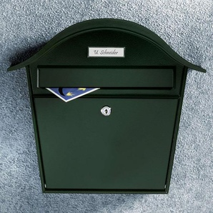 Boîte aux lettres en acier Holiday 5842 vert