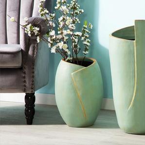 Vase décoratif vert menthe MURSA
