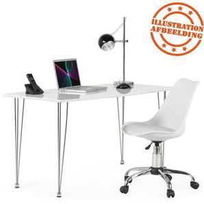 Chaise de bureau moderne SEDIA blanche
