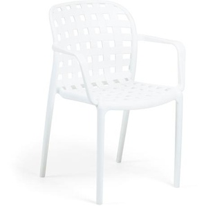 Kave Home - Chaise Isa blanc