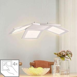 Suspension LED à quatre lampes Luciano