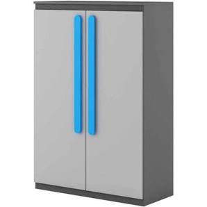 Petite armoire double Play - Bleu