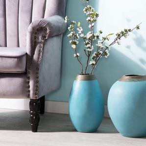 Vase décoratif bleu LAURI