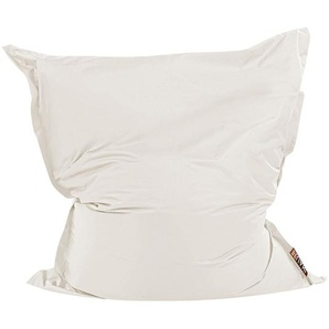 Pouf géant XXXL 140 x 180 cm blanc crème