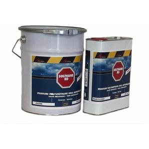 Peinture antidérapante sol extérieur escalier bateau carrelage béton bois métal - SOLTHANE RD - ARCANE INDUSTRIES - Gris 4 ral 7047 - Kit de 5 kg