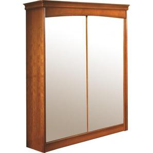Armoire merisier 2 portes coulissantes à  glaces H197