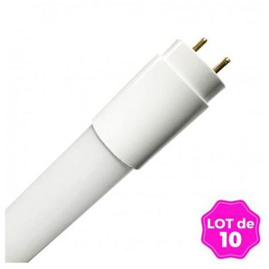 Lot de 10 Tubes Neon LED 24W 150cm T8 Blanc Neutre 4500k Gamme Pro - LOTX104500K150CM - EUROPALAMP