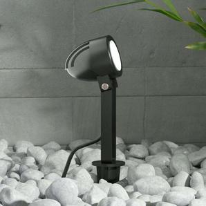 Projecteur ext. LED Timko avec piquet, IP65, noir