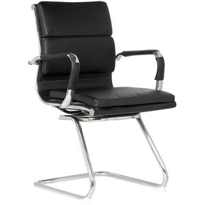 SKLUM - Chaise de Bureau avec Accoudoirs Mina Polypropylène Noir