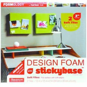 Foamology 2-Piece Design Foam Tile, 12 by 12 by 2-Inch by Foamology