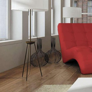 JUSTyou LAGUNA Fauteuil relax 76x170x83 cm Rouge