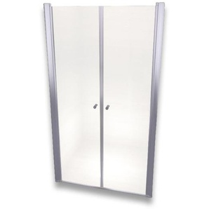 Porte de douche 195 cm largeur réglable 92-96 cm Transparent - MONMOBILIERDESIGN