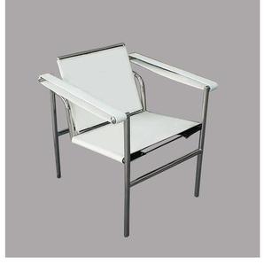 Chaise LC1 Le Corbusier - Blanc