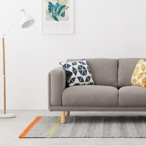 Karson, canapé 2 places, gris tendre