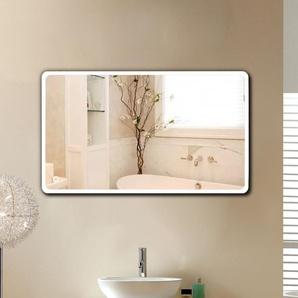 Miroir de salle de bain 120*70 cm - LED à commande tactile - Blanc froid - OOBEST
