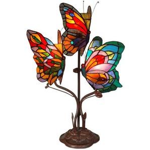 Lampe de chevet Butterfly Tiffany 3 cm H53xL35xS27 Artedalmondo AB20101