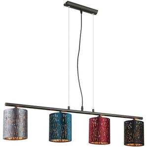 Suspension, velours, multicolore, H 120 cm, TICON - GLOBO