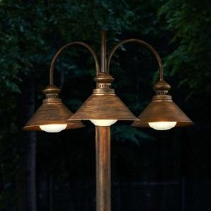 Lampadaire dextérieur Millane à 3 lampes