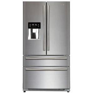 Haier B22fsaa - Refrigerateur Multi-portes - 522l 387+135 - Froid Ventile - A+ - L 91cm X H 178cm - Silver