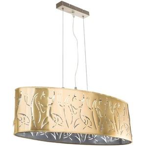Suspension LED RGB, GOLD, estampée, L 65 cm, TAXOS - ETC-SHOP