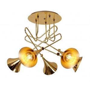 Semi plafonnier Jazz cinq lampes