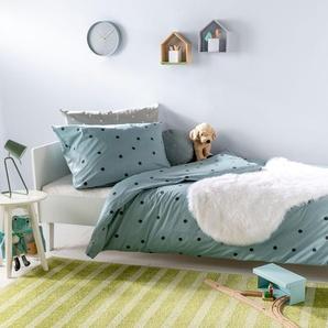 Tapis enfant Noa Kids Stripes Vert 80x150 cm - Tapis pour chambre denfants/bébé