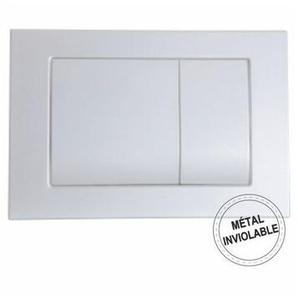 Plaque Métal - anti vandalisme Chromée mate - REGIPLAST