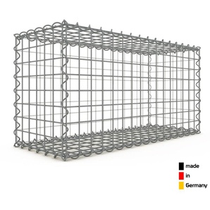 Gabion 80x40x30cm « made in Germany » - mailles carrées 5x5cm - GABIONDECO