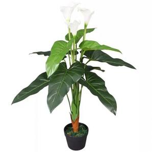 PLANTE ARTIFICIELLE CALLA LILY BLANC HAUTEUR 120 CM - GAZON DU SUD