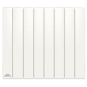 Radiateur Fonte AIRELEC - FONTEA Smart ECOControl 1000W Horizontal Blanc - A693053