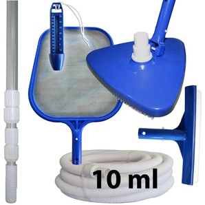 Kit dentretien et de nettoyage piscine + manche + tuyau 10 ml - PISCINE CENTER OCLAIR