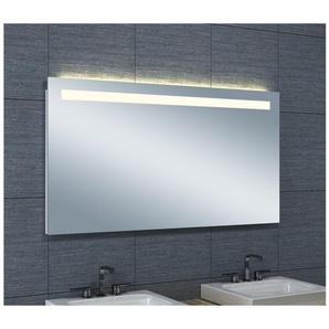 Miroir de salle de bains avec éclairage LED Horizontale - 65 cm x 120 cm (HxL) - PRADEL