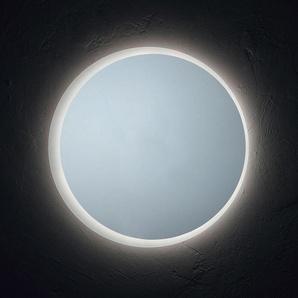 Miroir Rond Pour Salle De Bain Avec Diamètre Cm 70 Retroéclairé À Led Moderne - KIAMAMI VALENTINA