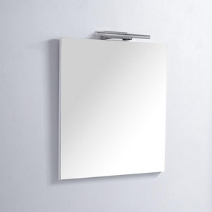 Miroir de salle de bain Rectangle - 60x80 cm - Lampe LED - Classic Scandinave 60 - RUE DU BAIN