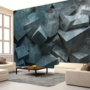 Papier peint - Avalanche de pierre